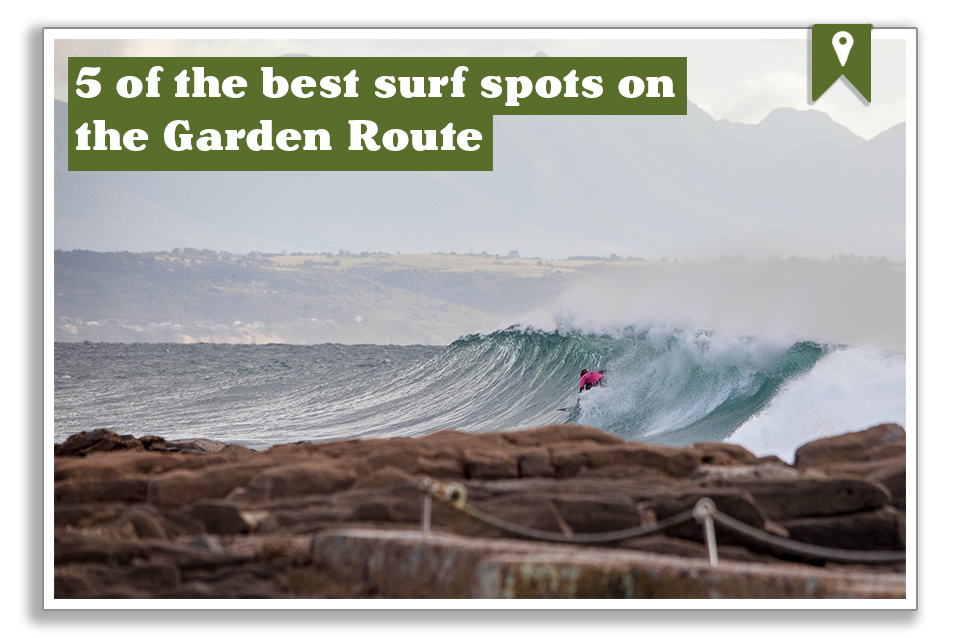 Five of the best surf spots on the Garden Route