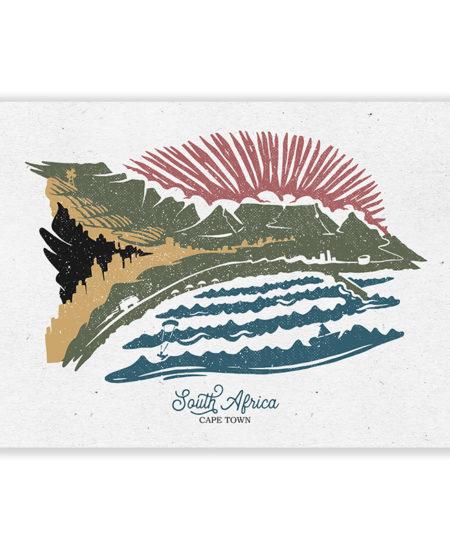 South Africa Postcard Amsterdam Hoek Cape JV0 Port Elizabeth
