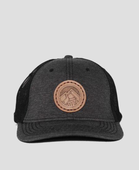 Trucker cap charcoal grey