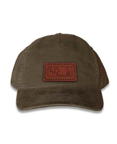 Olive Vintage Cap, Hiker